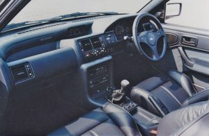 Escort Cosworth interior