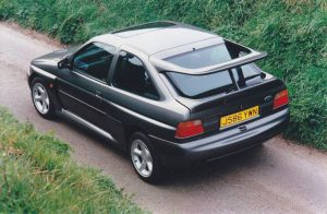 Escort Cosworth rear