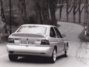 Escort Cosworth without rear wing