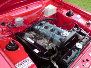 Escort RS1600 engine