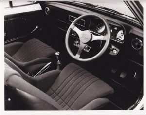 Escort Mexico Mk2 interior