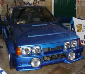 Escort RS1700T road car