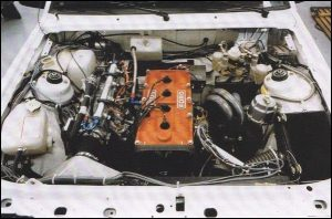 Escort RS1700T engine