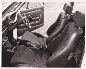 Escort RS2000 Mk2 Australia interior