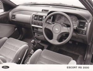 Escort RS2000 Mk6 interior