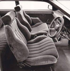 Escort RS1600i interior