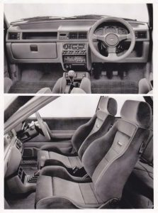 Fiesta RS Turbo interior