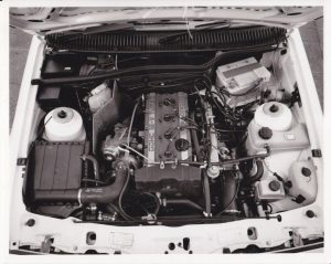Sierra RS Cosworth engine